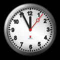 Five minutes to twelve Royalty Free Stock Photo