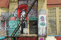 Five pointz considered the world s graffiti mecca in queens new york Royalty Free Stock Image