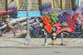Five pointz graffiti on considered the world s graffiti mecca in queens new york Stock Photography