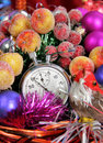 Five seconds to new year Stock Image