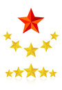 Five star service Stock Photo