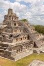 The five storey pyramid at Edzna Royalty Free Stock Photo