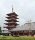 Five Storied Pagoda at Senso-Ji Royalty Free Stock Photo