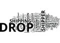 Five Tested Ways To Find The Perfect Drop Shipper Word Cloud Concept Royalty Free Stock Photo