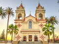 Five wounds portuguese national church churchis parish of the latin rite of the roman catholic in san jose california Royalty Free Stock Image