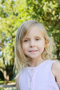Five years old girl Royalty Free Stock Photo