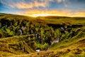 Fjadrargljufur Canyon in Iceland Royalty Free Stock Photo