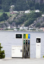 Fjord fuel. Stock Photos