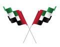 Fla of United arab emirates, spirit of the union - Illustration