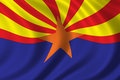 Flag of Arizona Stock Images