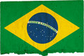Flag of Brazil Stock Image