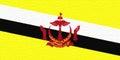 Flag of Brunei Wall