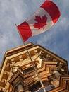 Flag of Canada Stock Photos