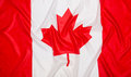 Canadian Flag of Canada Royalty Free Stock Photo
