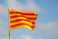 Flag of Catalonia Stock Photos