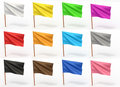 Flag collection Royalty Free Stock Image