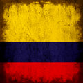 Flag of colombia Stock Photography