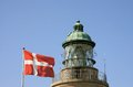 Flag of Denmark. Royalty Free Stock Images