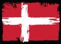 Flag Of Denmark. Design element
