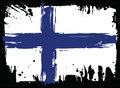 Flag Of Finland. Design element