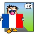 The Flag of France, Tricolore Stock Photography