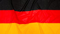 German Flag of Germany Royalty Free Stock Photo