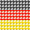 Flag germany made leds bubbles Royalty Free Stock Photo
