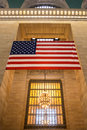 Flag at Grand Central Royalty Free Stock Photo