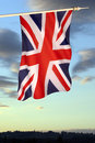 Flag of great britain and northern ireland the the united kingdom the union Royalty Free Stock Images