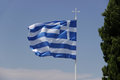Flag of Greece Royalty Free Stock Photo