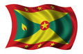 Flag of Grenada Stock Photo