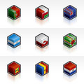 Flag Icons Set - Design Elements 56u Royalty Free Stock Photo