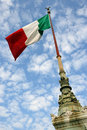 Flag of Italy Stock Image