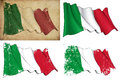 Flag of Italy Royalty Free Stock Images