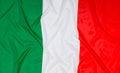 Italian Flag of Italy Royalty Free Stock Photo