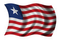 Flag of Liberia Stock Photos