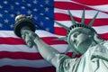 Flag of Liberty Royalty Free Stock Photo