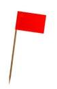 Flag of Macedonia Royalty Free Stock Photo