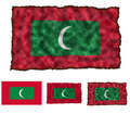 Flag of Maldives Royalty Free Stock Images