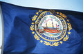 Flag of New Hampshire Stock Photo