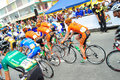 Flag off at LTDL Stage 7 Starting Point Royalty Free Stock Image