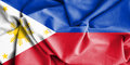 Flag of Philippines. Royalty Free Stock Photo
