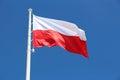Flag of Poland Royalty Free Stock Photo
