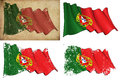 Flag of Portugal Royalty Free Stock Photography