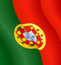 Flag of Portugal Royalty Free Stock Photos