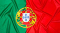 Portuguese Flag of Portugal Royalty Free Stock Photo