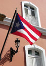 The Flag Of Puerto Rico Royalty Free Stock Photography