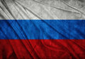 Flag of russia realistic waving Royalty Free Stock Image