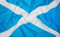 Scottish Flag of Scotland Royalty Free Stock Photo