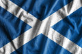 Flag of Scotland Royalty Free Stock Photo